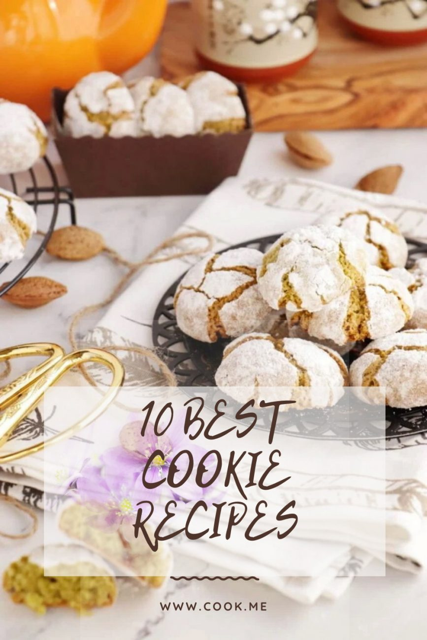 Best Cookie Recipes - Baking at Home for Begginers - Homemade Cookies