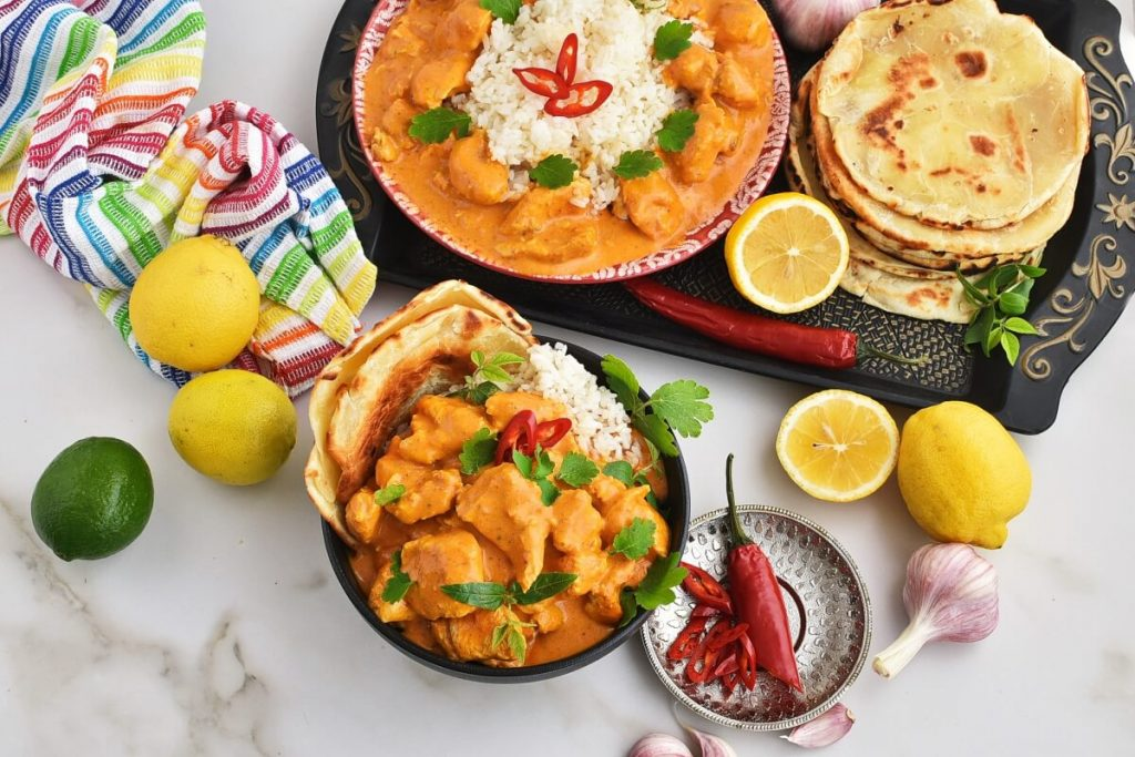 How to serve Butter Chicken