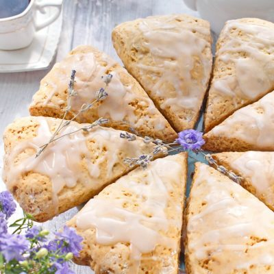 Buttermilk Lavender Scones recipe-Lavender buttermilk scones-Simple and Delicious Lavender Scones Recipe