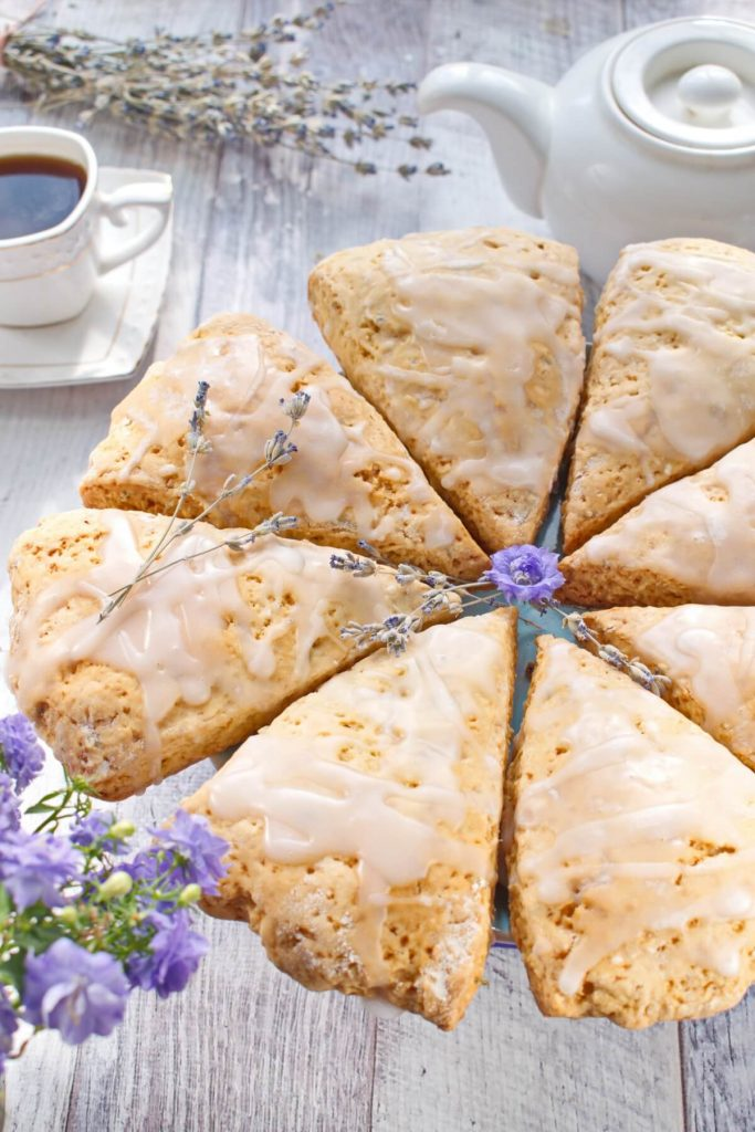 Buttermilk Lavender Scones