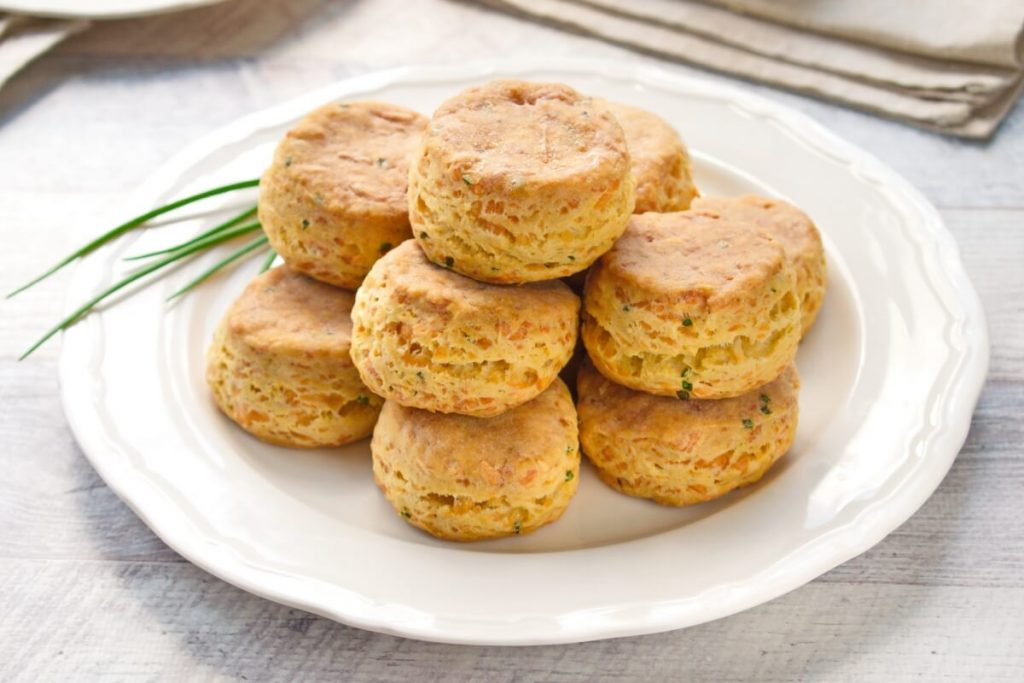 How to serve Cheddar Chive Biscuits