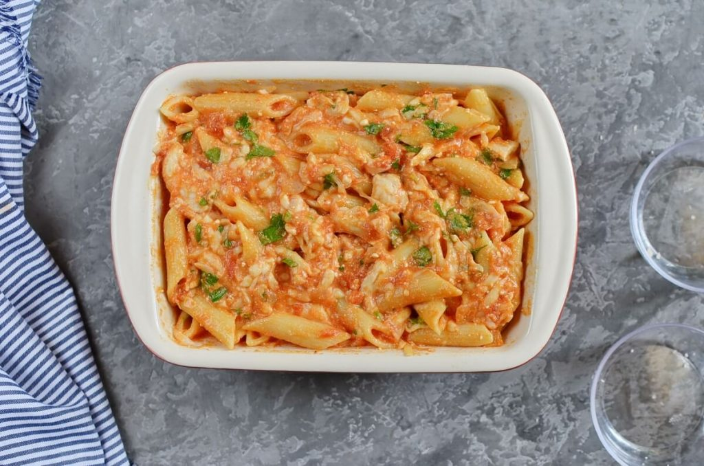 Chicken Pasta Bake recipe - step 7