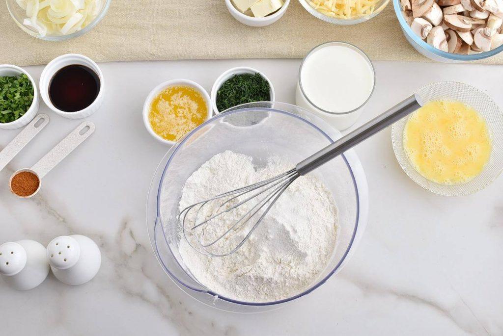 Chicken and Mushroom Crepes recipe - step 4