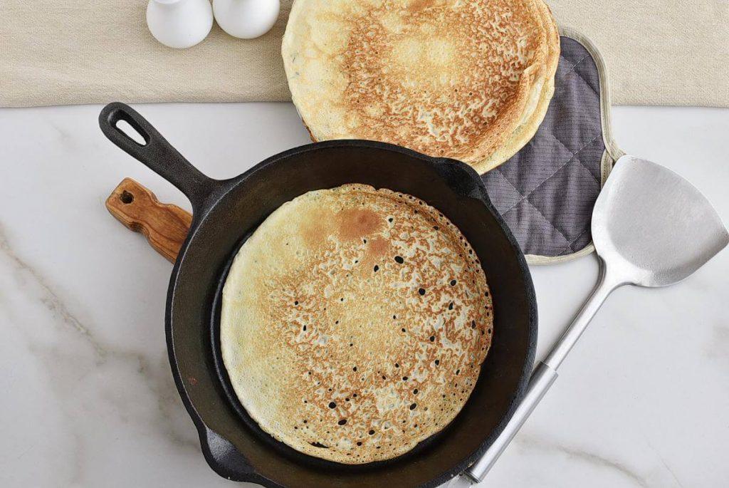 Chicken and Mushroom Crepes recipe - step 8