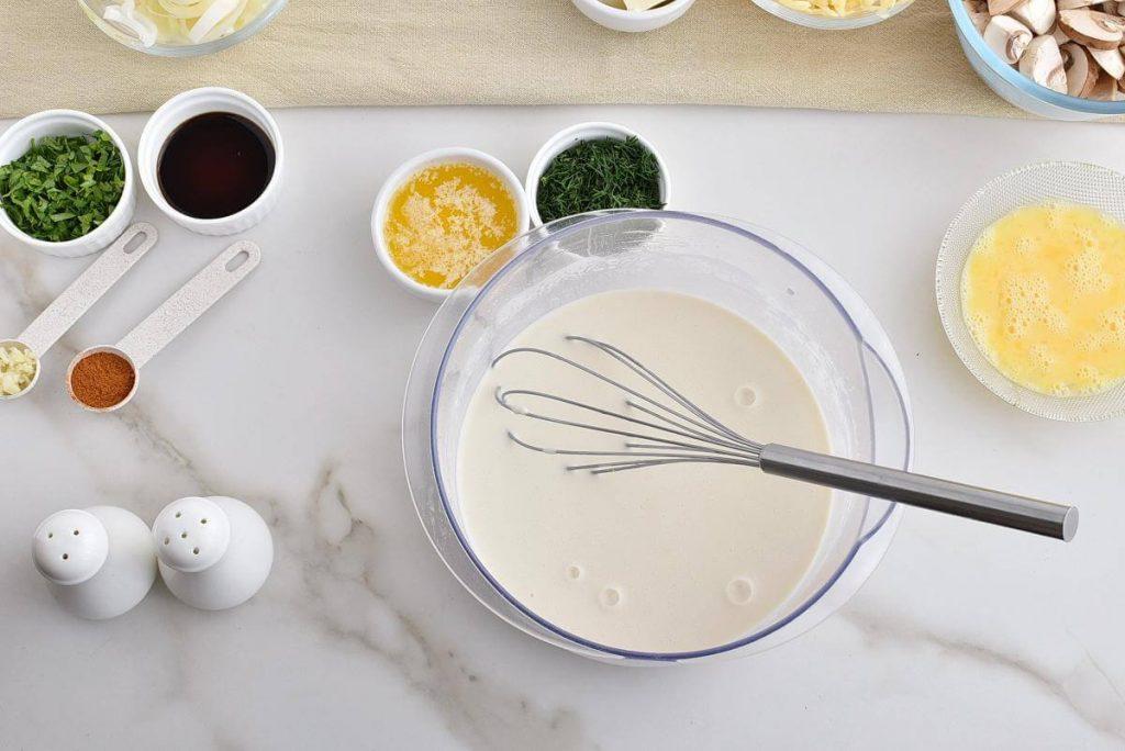 Chicken and Mushroom Crepes recipe - step 5