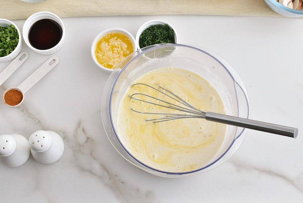 Chicken and Mushroom Crepes recipe - step 6