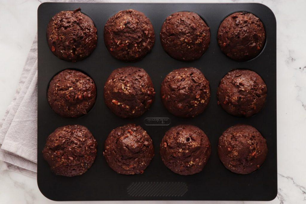 Chocolate Banana Rye Muffins recipe - step 8