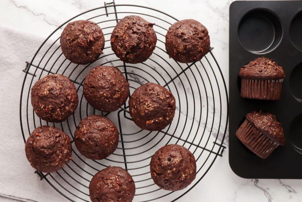 Chocolate Banana Rye Muffins recipe - step 9
