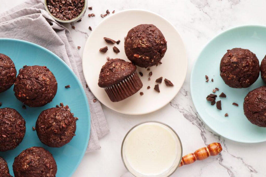 How to serve Chocolate Banana Rye Muffins