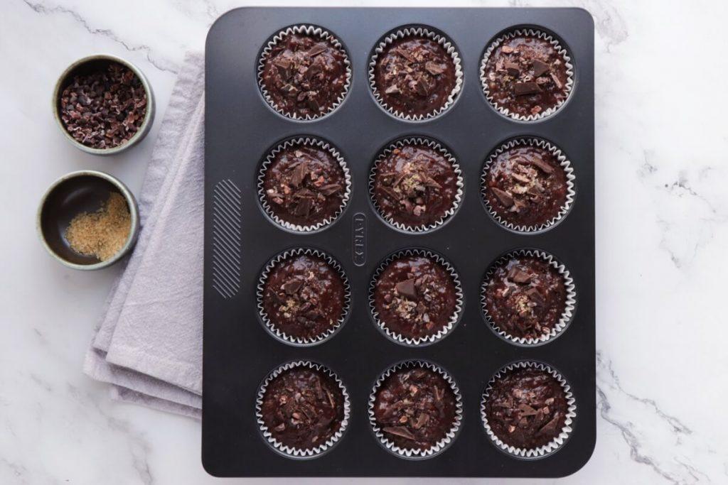 Chocolate Banana Rye Muffins recipe - step 7