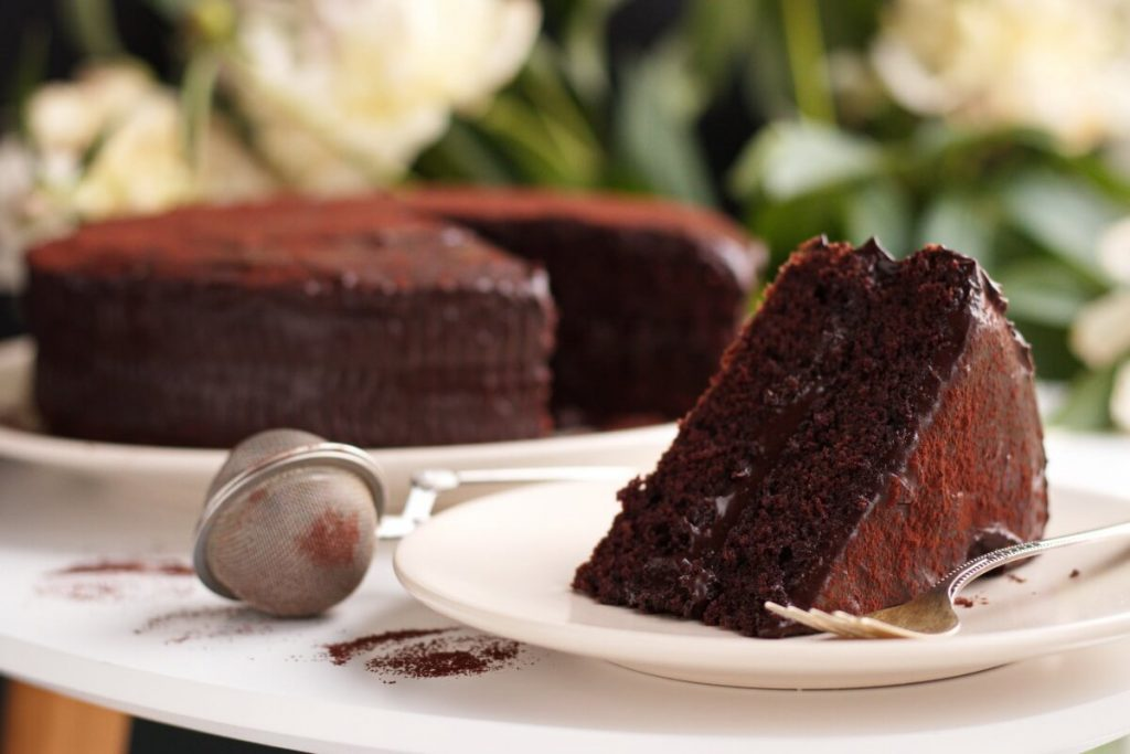 Chocolate Crazy Cake Recipe-Chocolate Depression Cake-Wacky Cake