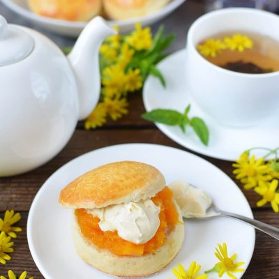 Classic scones with jam & clotted cream Recipe-How To Make Classic scones with jam & clotted cream-Delicious Classic scones with jam & clotted cream