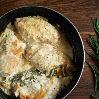 Creamy Mustard & Tarragon Chicken recipe - step 5