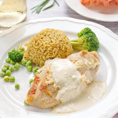 Creamy mustard tarragon chicken recipe-Creamy Mustard and Tarragon Chicken-Chicken with Mustard and Tarragon Cream Sauce