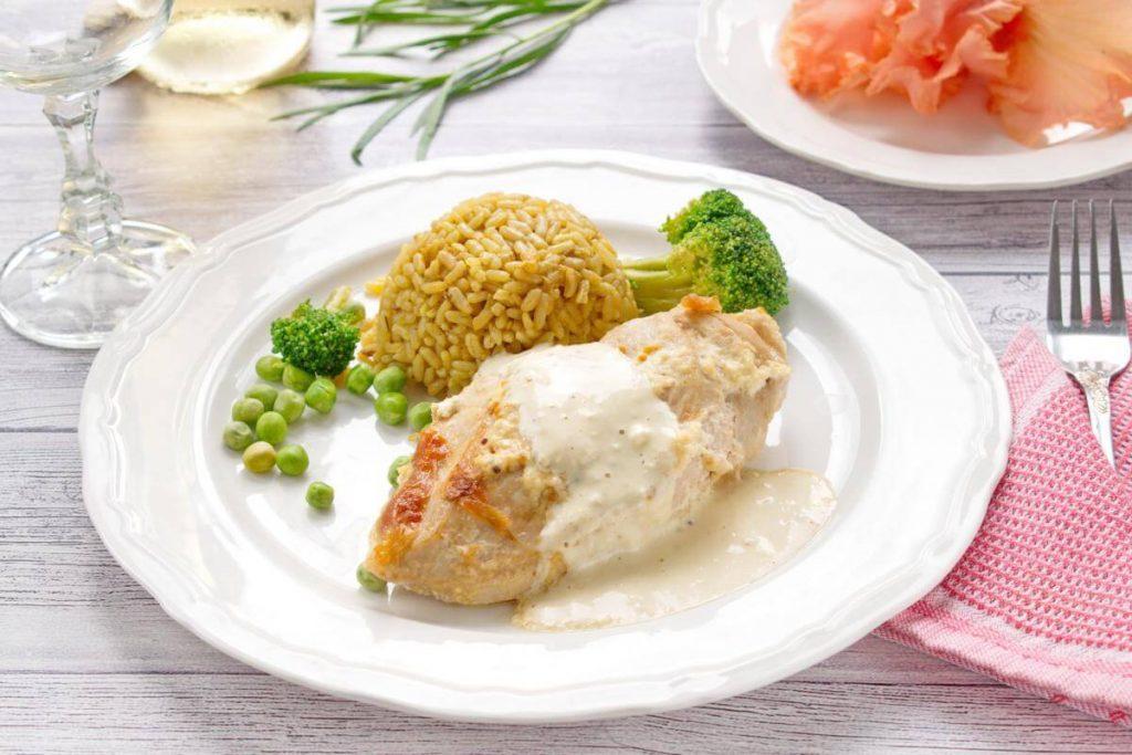 Creamy mustard tarragon chicken recipe-Creamy Mustard and Tarragon Chicken-Chicken with Mustard and Tarragon Cream Sauce