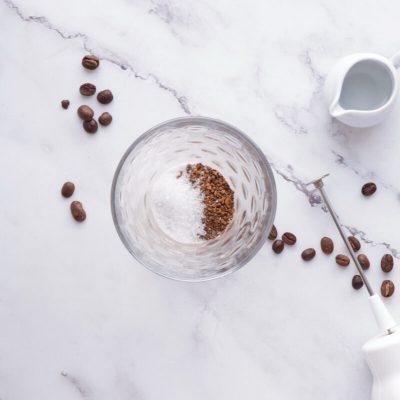 Dalgona Coffee – Whipped Coffee recipe - step 1