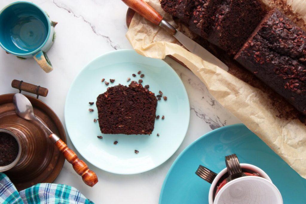 How to serve Double Chocolate Banana Bread
