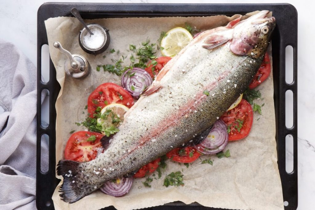 Easy Roasted Whole Trout recipe - step 5
