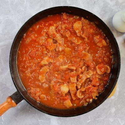 Easy Tortellini Amatriciana recipe - step 4