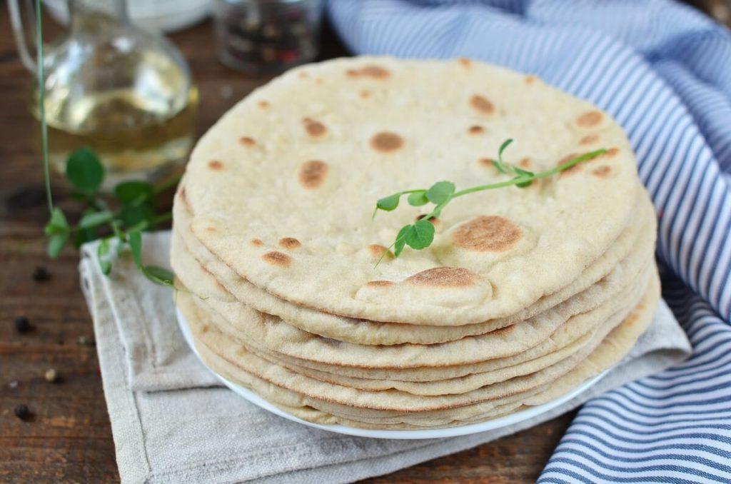 How to serve Homemade Pita Bread