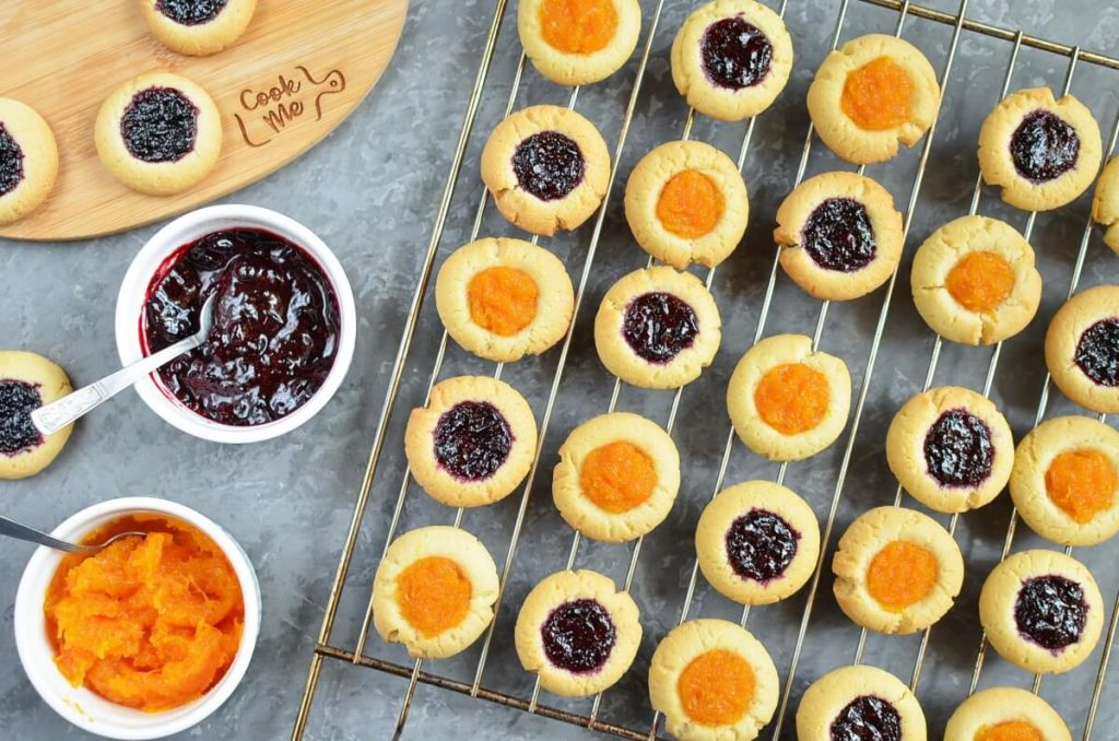 How to serve Jam-Filled Thumbprint Cookies