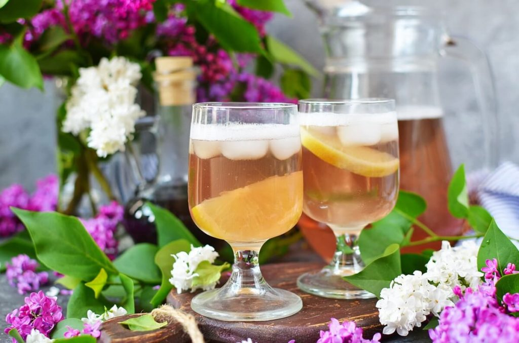 How to serve Lilac Shandy