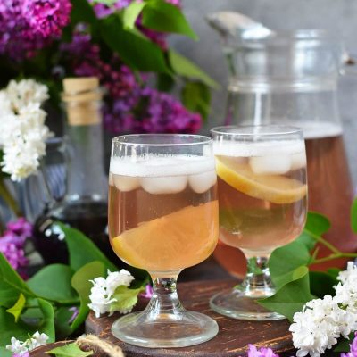 Lilac Shandy Recipe-How To Make Lilac Shandy-Delicious Lilac Shandy