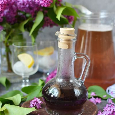 Lilac Syrup Recipe-How To Make Lilac Syrup-Delicious Lilac Syrup