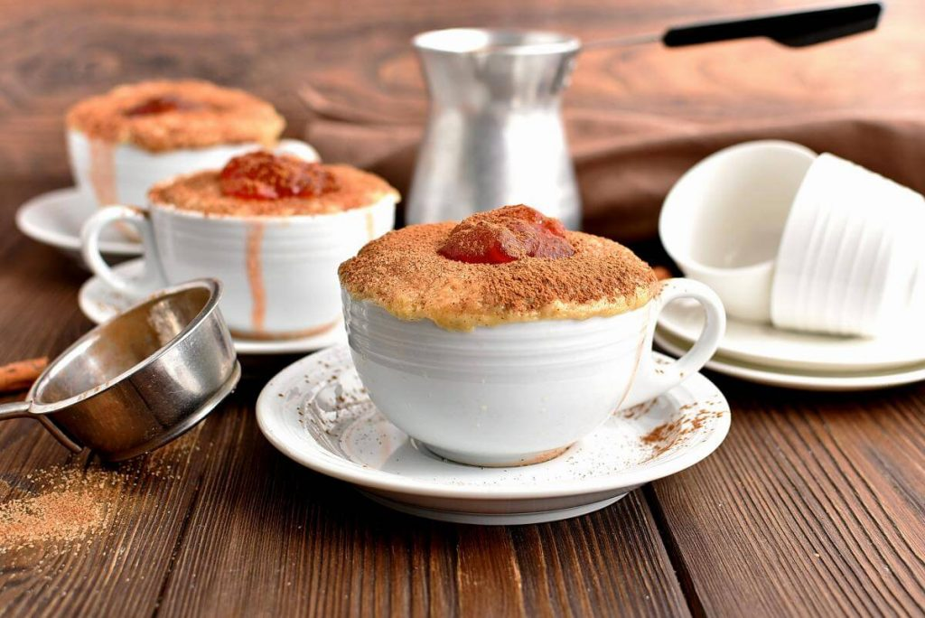 Microwave Jelly Donut in a Mug Recipes–Homemade Microwave Jelly Donut in a Mug–Easy Microwave Jelly Donut in a Mug