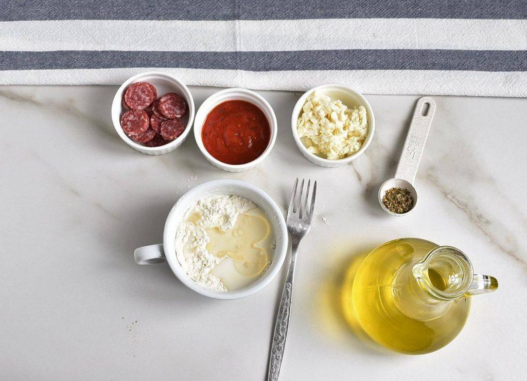 Microwave Mug Pizza recipe - step 2