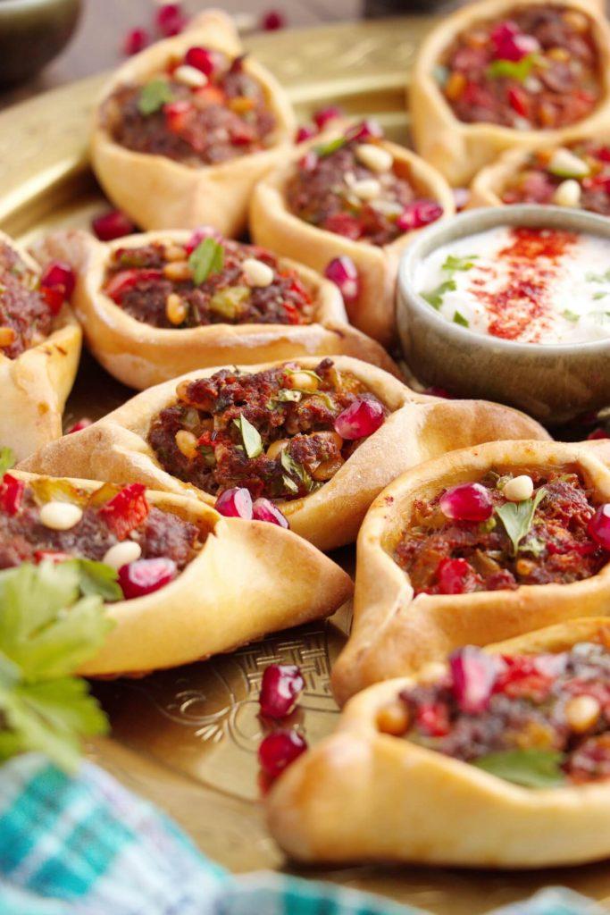 Middle Eastern Dumplings Stuffed with Meat