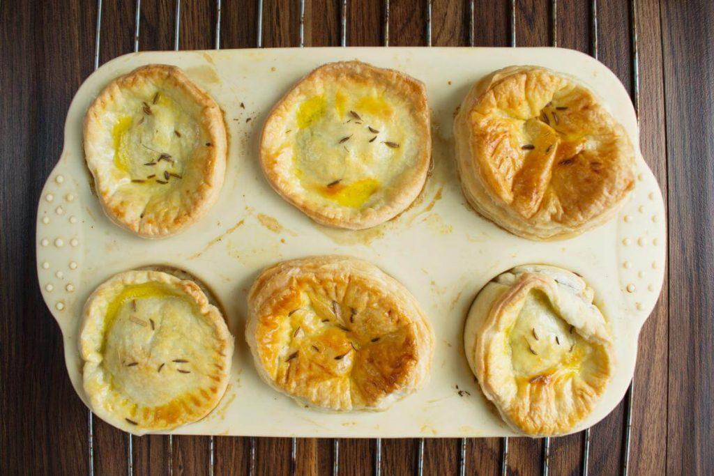 Mini Creamy Mushroom Pies recipe - step 7