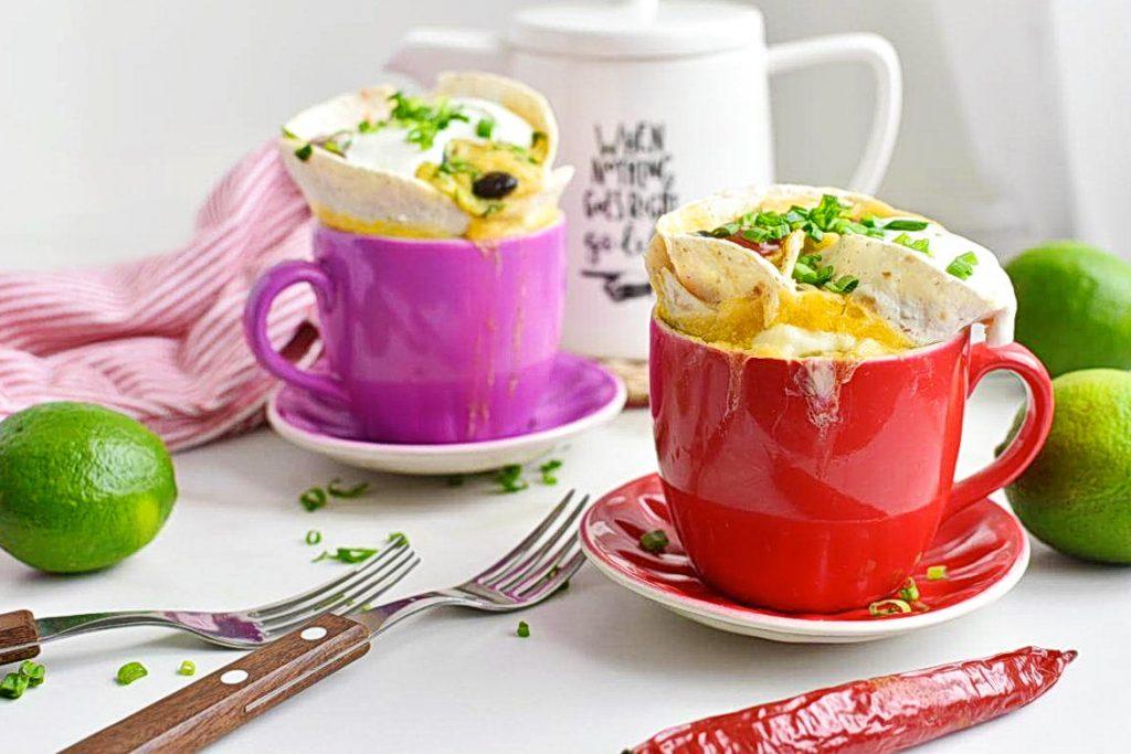 Mugrito Breakfast Burrito in a Mug Recipes–Homemade Mugrito Breakfast Burrito in a Mug–Easy Mugrito Breakfast Burrito in a Mug