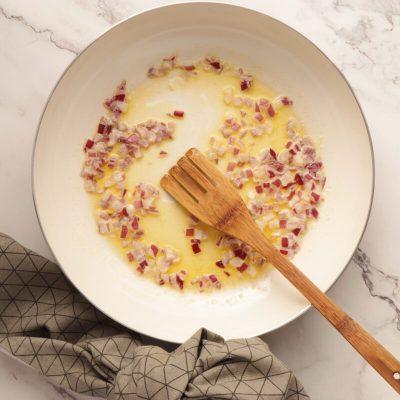Pasta with Salmon & Peas recipe - step 2