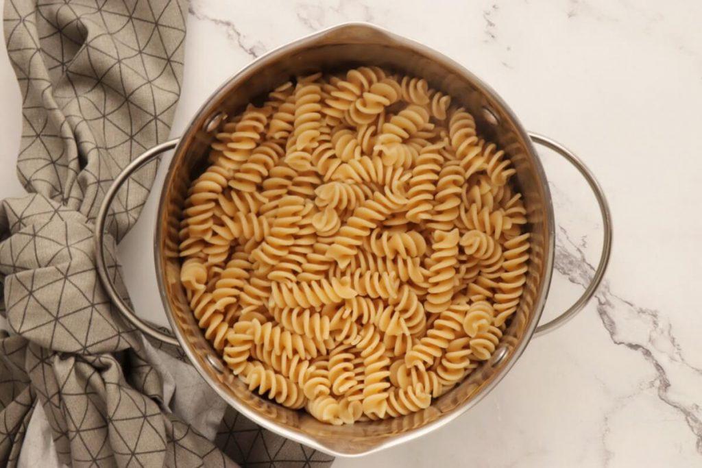 Pasta with Salmon & Peas recipe - step 1