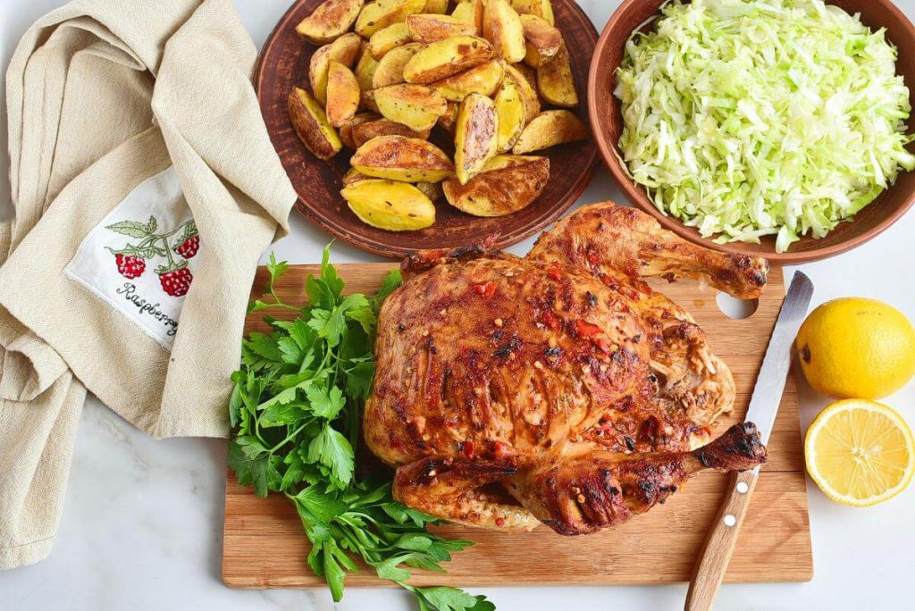 How to serve Piri-Piri Chicken