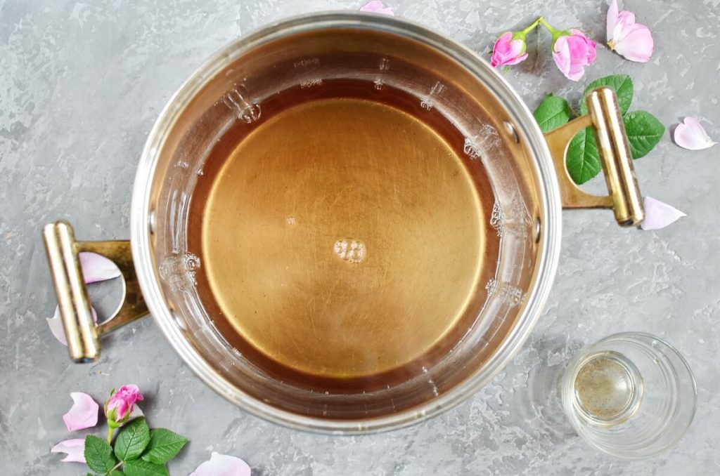 Rose Petal Honey recipe - step 4