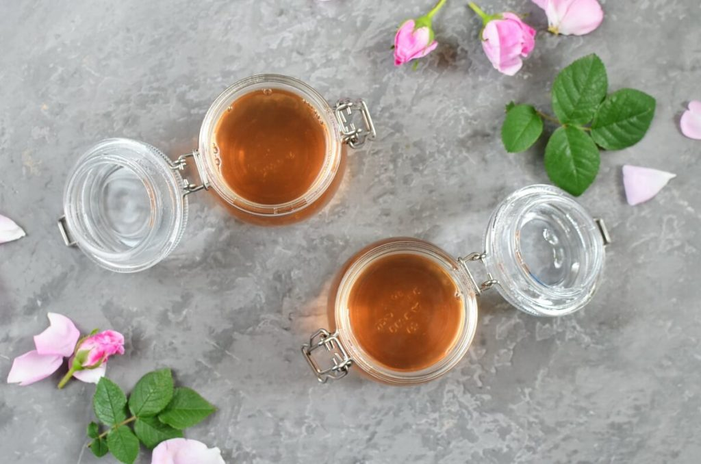 Rose Petal Honey recipe - step 5