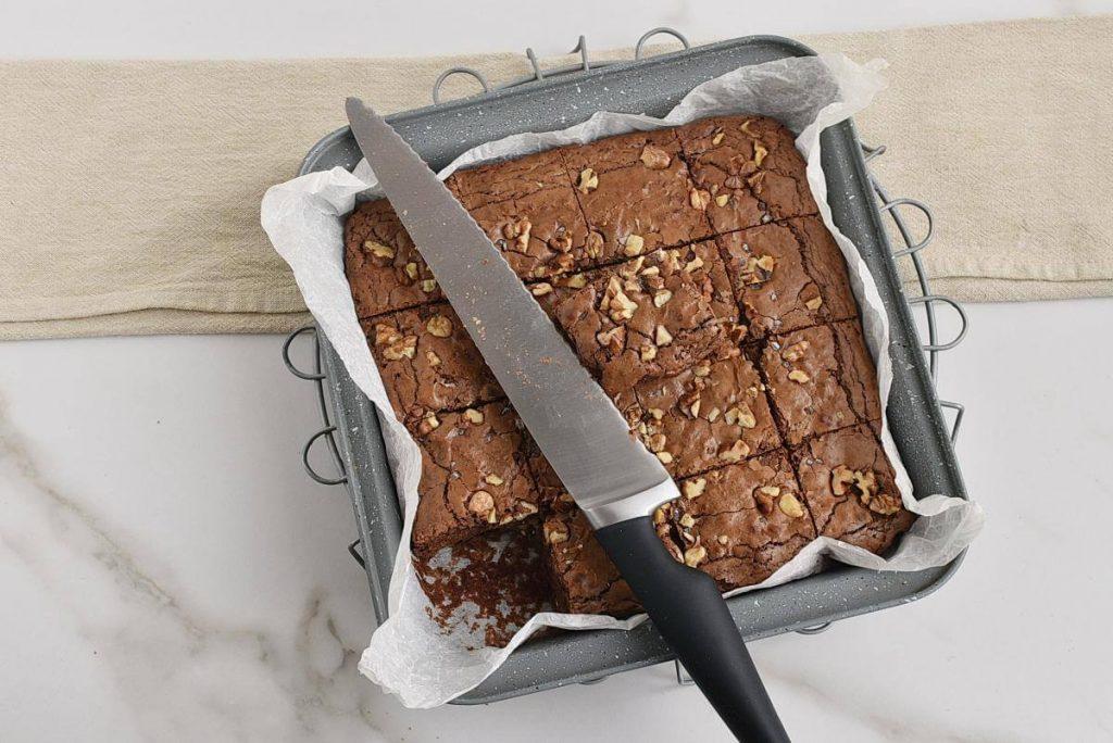 Salted Chocolate & Hazelnut Brownies recipe - step 9