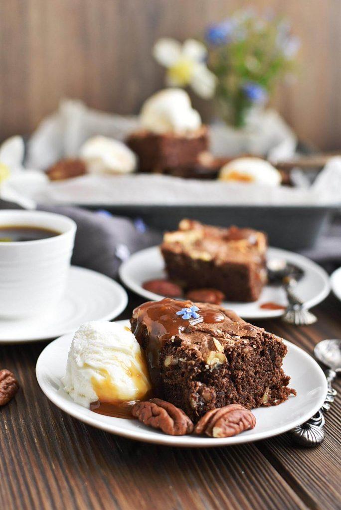 Salted Chocolate & Hazelnut Brownies
