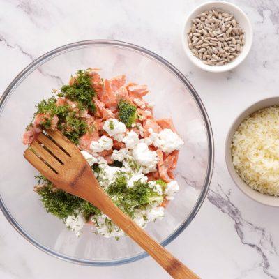 Smoked Salmon Keto Mini Quiches recipe - step 2