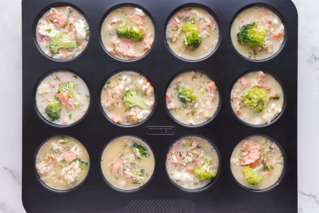 Smoked Salmon Keto Mini Quiches recipe - step 5
