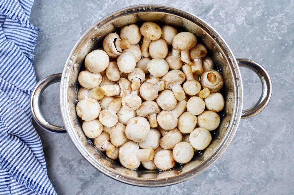 So Easy Pickled Mushrooms recipe - step 1