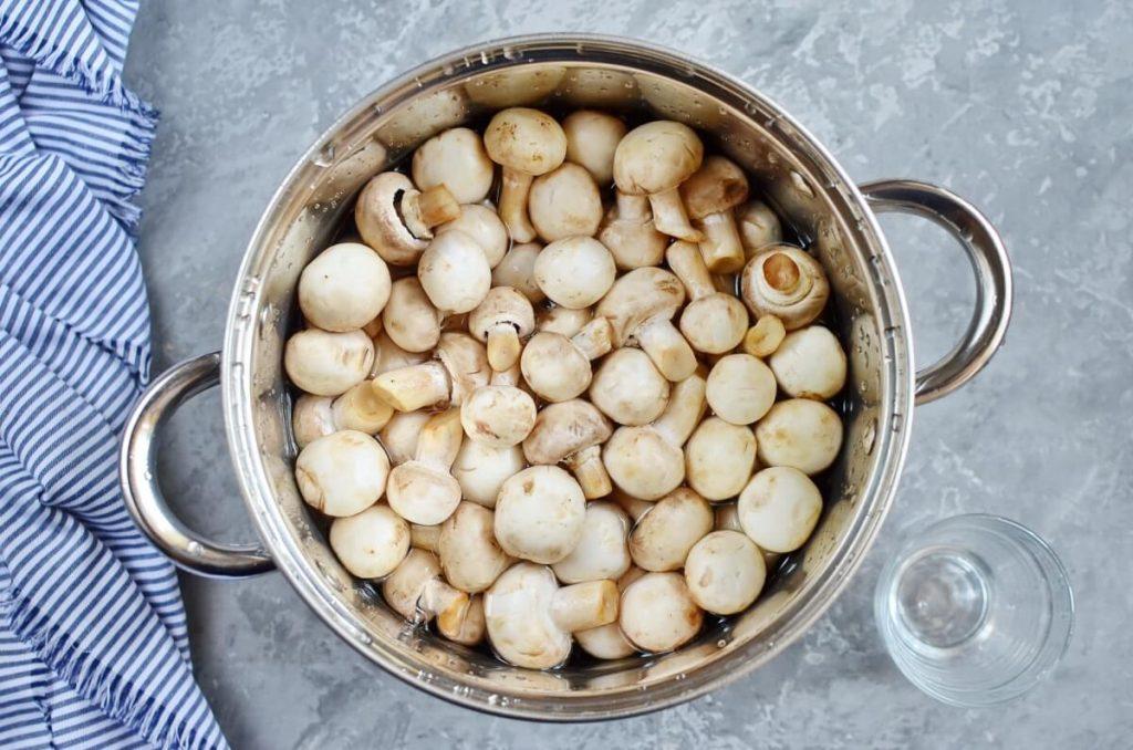 So Easy Pickled Mushrooms recipe - step 2