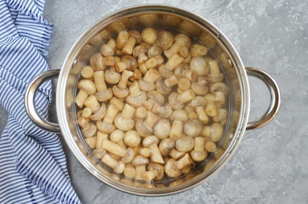 So Easy Pickled Mushrooms recipe - step 3