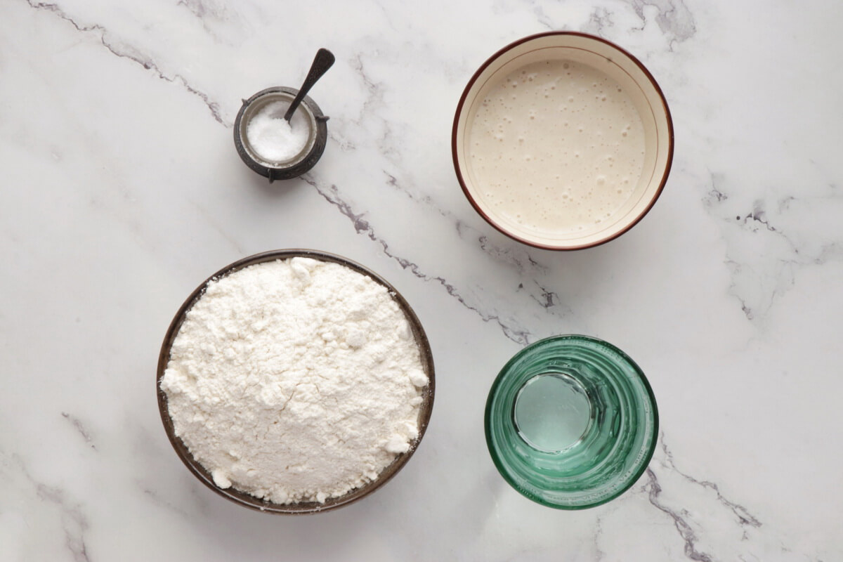 Ingridiens for Sourdough Bread: A Beginner's Guide