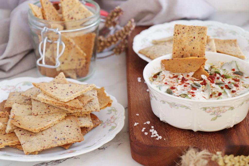 Sourdough Discard Crackers Recipe-Sourdough Crackers-How to Use Sourdough Discard
