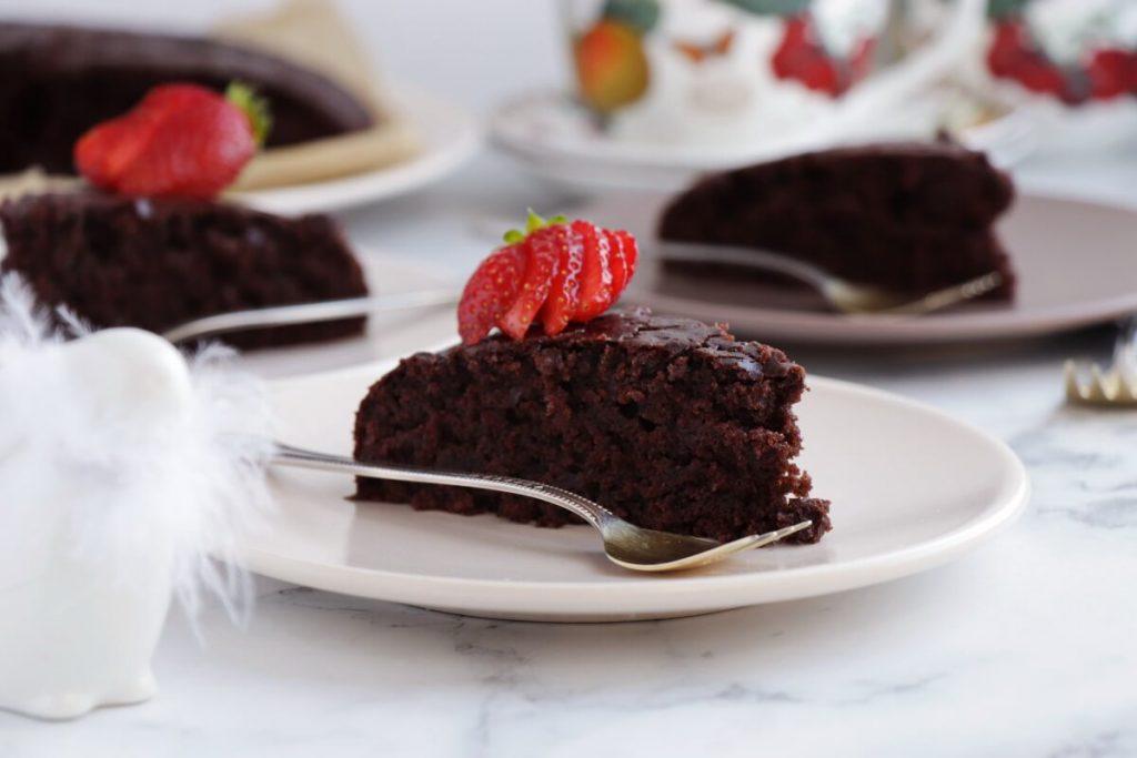 Sourdough Discard Vegan Chocolate Cake Recipe-Sourdough Chocolate Cake-How to Use Sourdough Discard