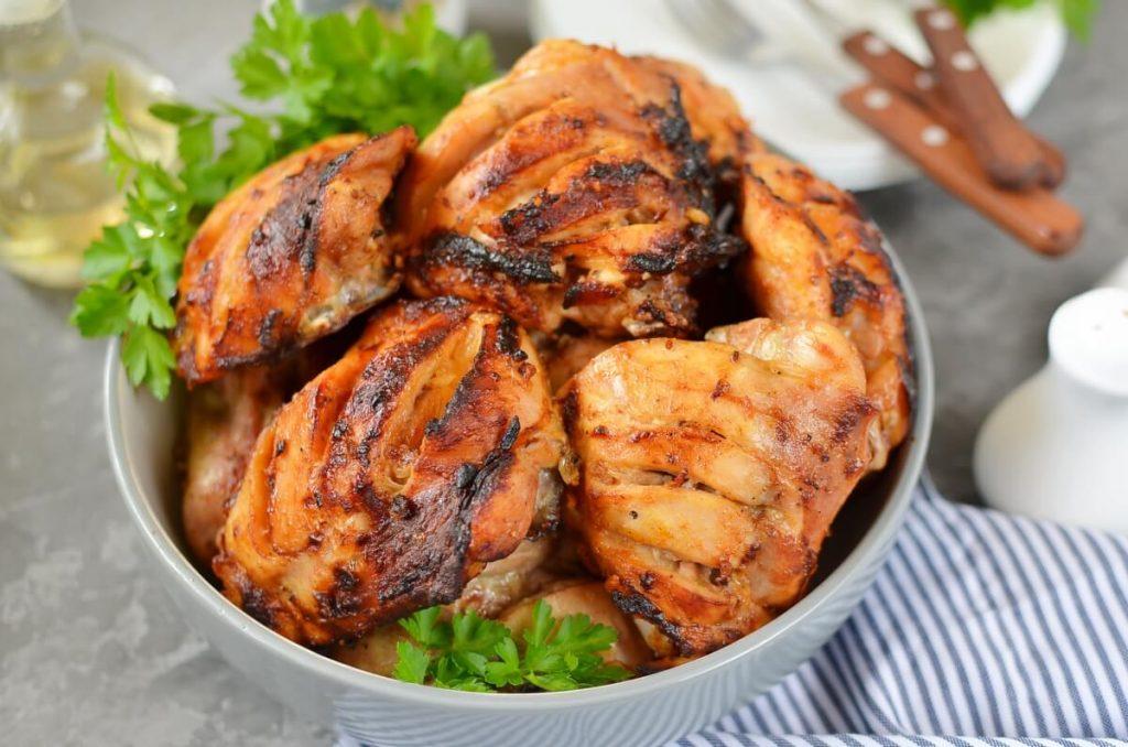 How to serve Tandoori chicken