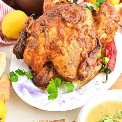 Tandoori roast chicken Recipes–Homemade Tandoori roast chicken–Easy Tandoori roast chicken